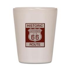 Fontana Route 66 Shot Glass
