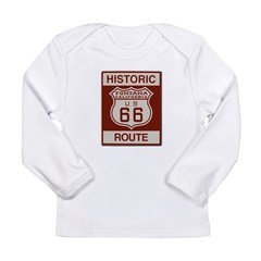 Fontana Route 66 Long Sleeve Infant T-Shirt