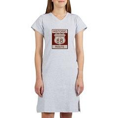 Fontana Route 66 Women's Nightshirt
