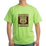 Fontana Route 66 Green T-Shirt