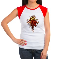 Ariana Crest Flourish Women's Cap Sleeve T-Shirt