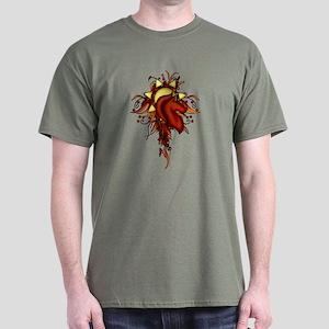 Ariana Crest Flourish Dark T-Shirt