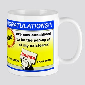 Pop-Up Of My Life Funny T-Shirt Mug