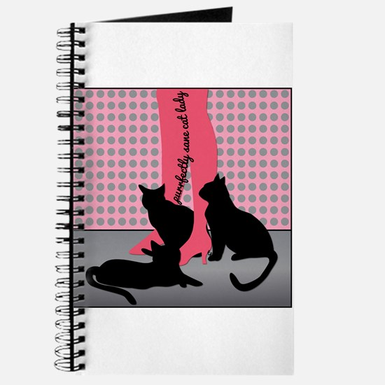 Purrfectly Sane Cat Lady Journal