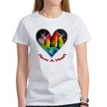 Have A Heart Women's Classic White T-Shirt