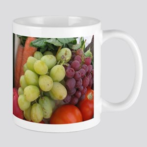 luscious wine country style fruit with grapes Mug