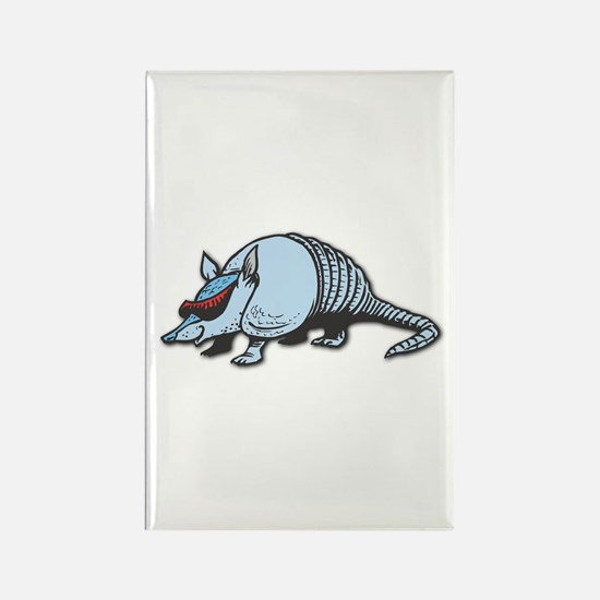 Cool Armadillo Rectangle Magnet (10 pack)