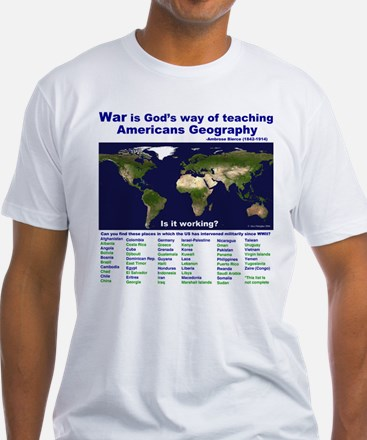 War is Gods Way of Teaching A Shirt