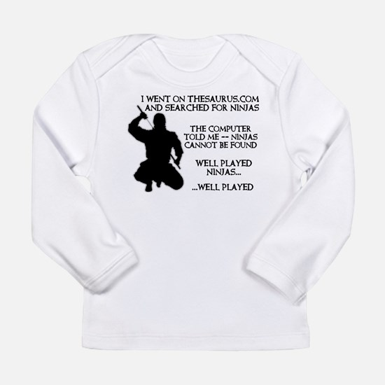 Thesaurus Ninja Funny T-Shirt Long Sleeve Infant T