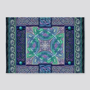 Celtic Atlantis Opal 5'x7'Area Rug