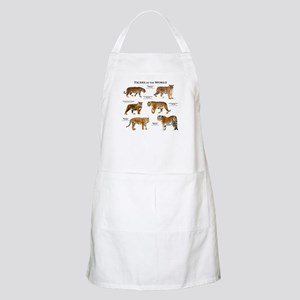 Tigers of the World Apron