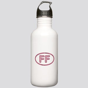 FF Pink Stainless Water Bottle 1.0L