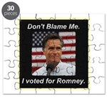 I Voted For Romney Puzzle