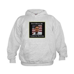 I Voted For Romney Hoodie