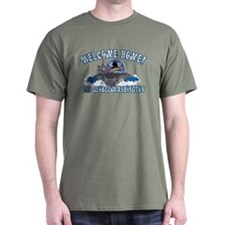 Welcome Home! CVN-73 Dark T-Shirt