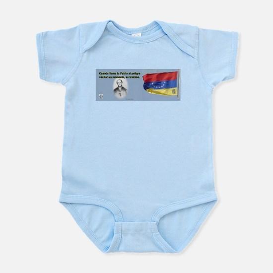 Patria en Peligro Infant Bodysuit