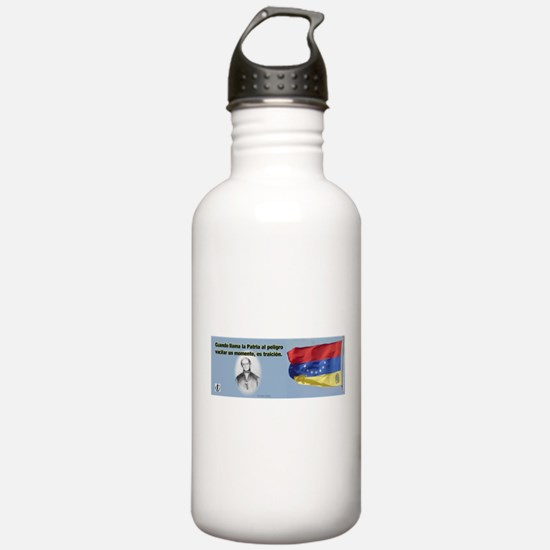 Patria en Peligro Water Bottle