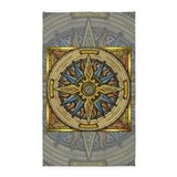 Celtic compass 3x5 area 3x5 Rugs