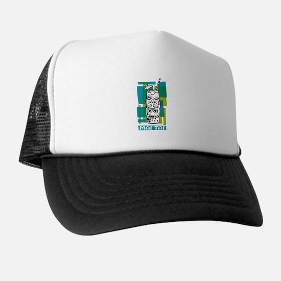 Mai Tai Tiki Cocktail Trucker Hat