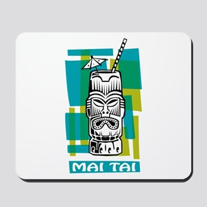 Mai Tai Tiki Cocktail Mousepad