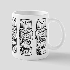 Three Tiki Statues Mug