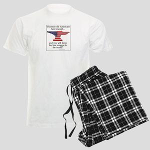 Forging a Weapon Men's Light Pajamas