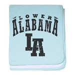 Lower Alabama baby blanket