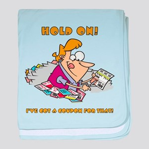 HOLD ON! baby blanket