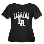 Lower Alabama Women's Plus Size Scoop Neck Dark T-