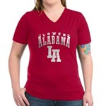 Lower Alabama Women's V-Neck Dark T-Shirt