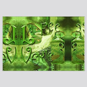La Fee Verte Collage Large Poster