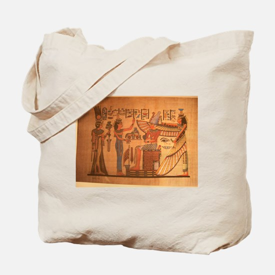 Ausar/Auset/Nbethet Tote Bag