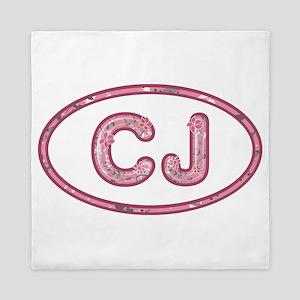 CJ Pink Queen Duvet