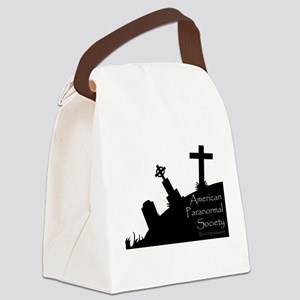 We Dig the Corner Cemetery Canvas Lunch Bag