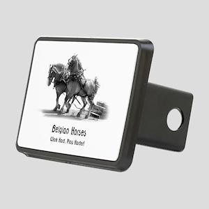 Belgian Horse Rectangular Hitch Cover