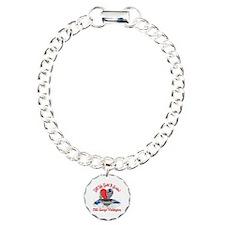 Half My Heart CVN-73 Charm Bracelet, One Charm