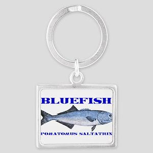 bluefish Landscape Keychain