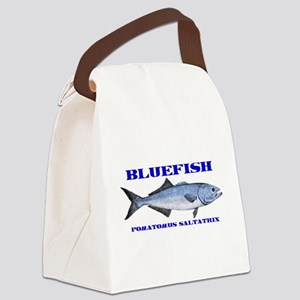 bluefish Canvas Lunch Bag
