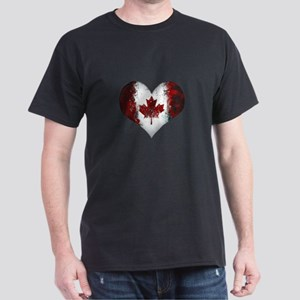 Canadian heart 2 Dark T-Shirt