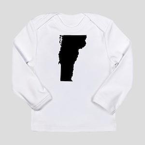 Black Long Sleeve Infant T-Shirt