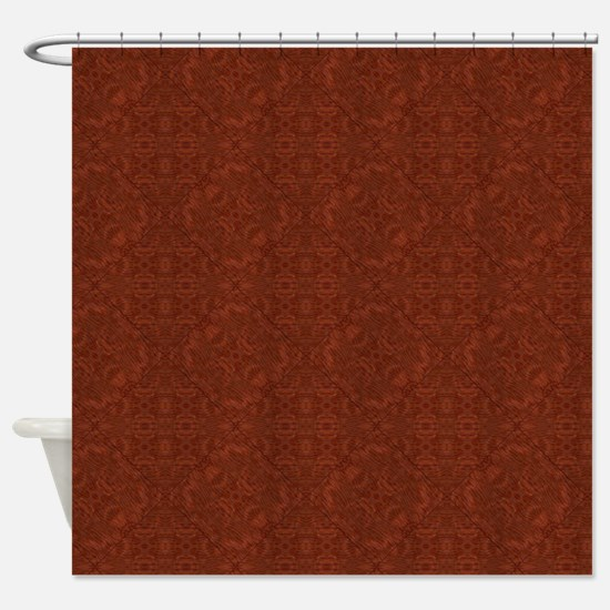 Barley There Floral Shower Curtain