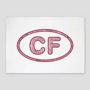 CF Pink 5'x7'Area Rug