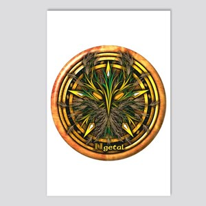 Reed Celtic Greenman Pentacle Postcards (Package o