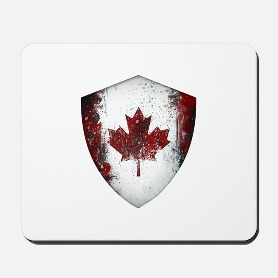 Canadian Graffiti Shield Mousepad