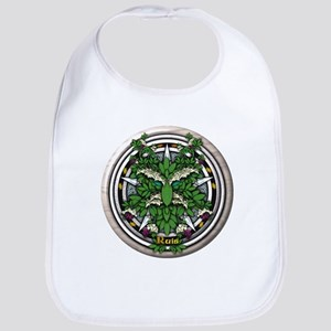 Elder Celtic Greenman Pentacle Bib