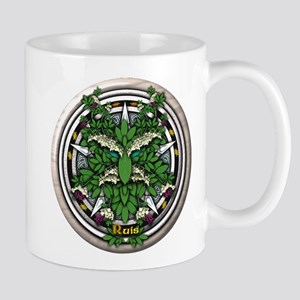 Elder Celtic Greenman Pentacle Mug