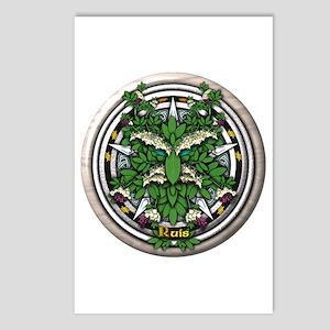 Elder Celtic Greenman Pentacle Postcards (Package