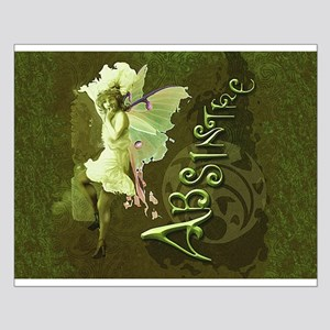 Absinthe Collage Small Poster