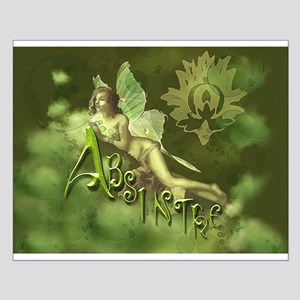 Absinthe Fairy Collage Small Poster