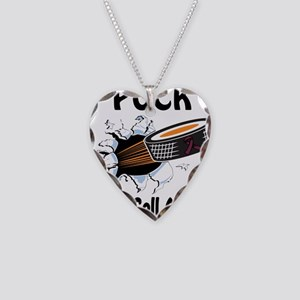 Puck Sickle Cell Anemia Necklace Heart Charm